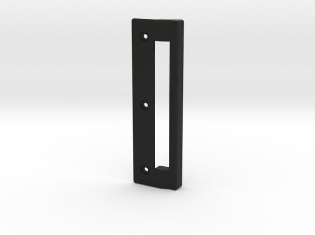 GE Freezer Door Handle in Black Natural Versatile Plastic