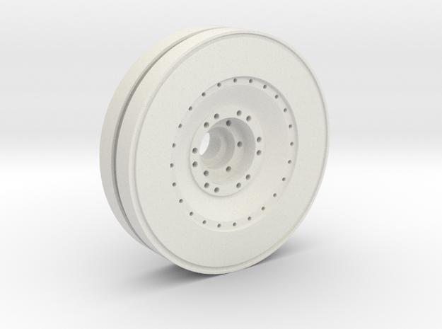 E-100 outer wheel  in White Strong & Flexible