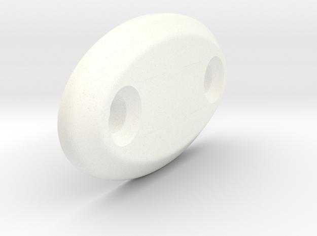 Miata sun visor delete plug in White Strong & Flexible Polished