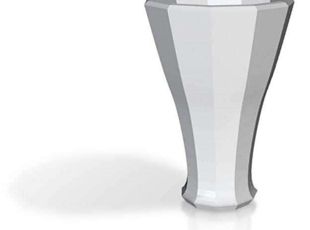 white cap cup 1 3d printed
