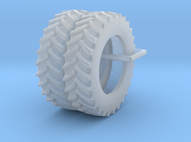 1/64 14.9R30 FWA Tires Qty: 2 in Smooth Fine Detail Plastic