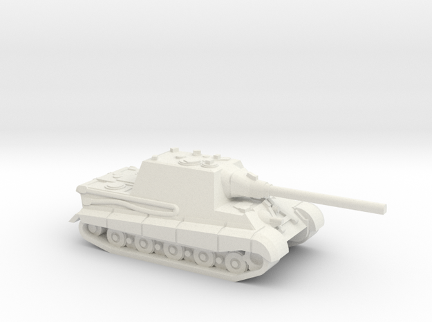 Jagdtiger in White Natural Versatile Plastic