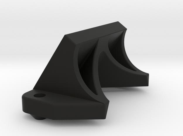 AE B6 Front Wing Mount in Black Natural Versatile Plastic