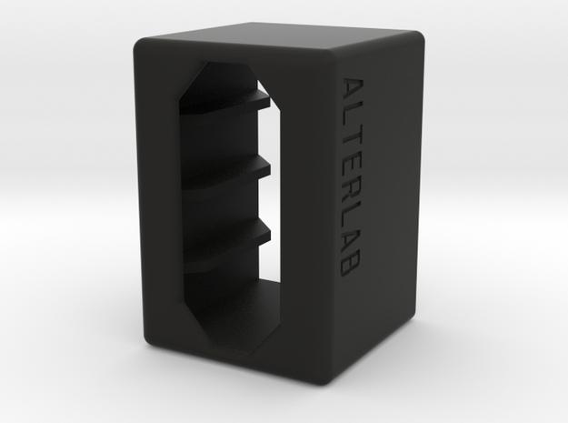 GoPro Hero4 battery case in Black Natural Versatile Plastic