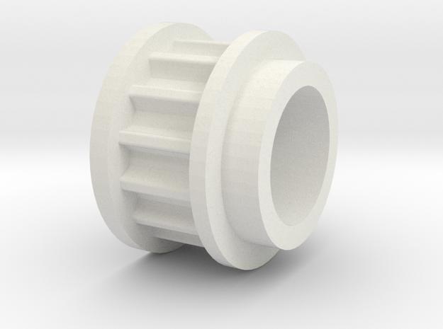 LA-11-F in White Natural Versatile Plastic