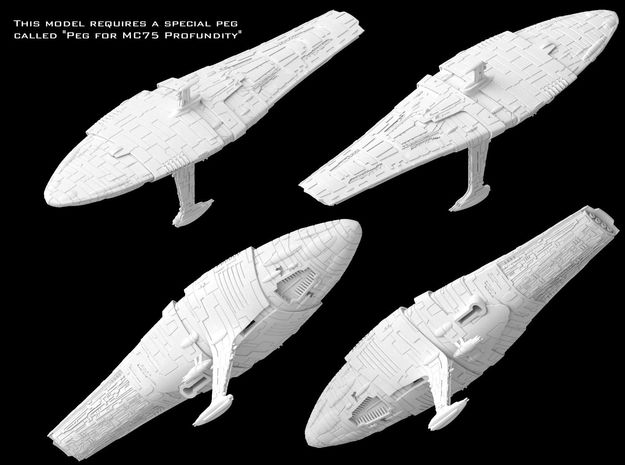 MC75 Profundity (1/7000) in White Strong & Flexible