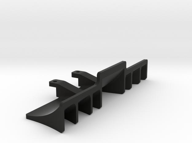 Xray T4 2014-15-16-17 Rear Diffuser in Black Natural Versatile Plastic