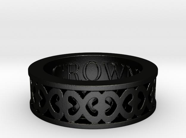 Hope by Crowned in Matte Black Steel: 5 / 49