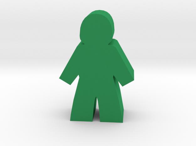 Game Piece, Citizen, Woman in Green Processed Versatile Plastic