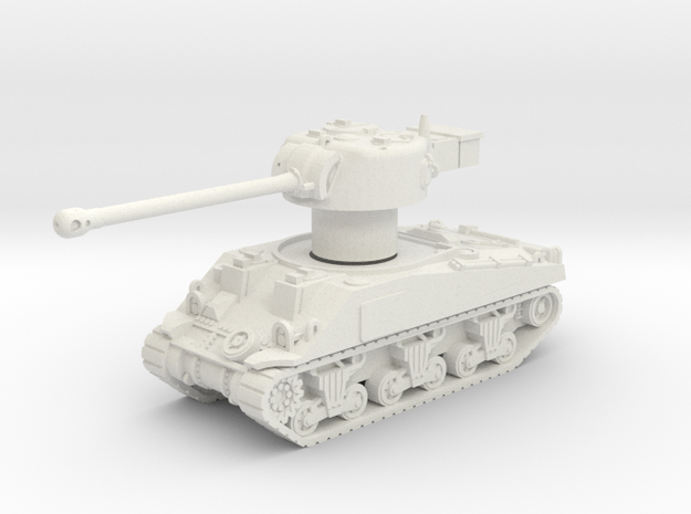 M4 Sherman VC Firefly Rotatable turret in White Strong & Flexible