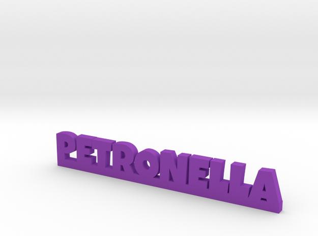 PETRONELLA Lucky in Purple Processed Versatile Plastic