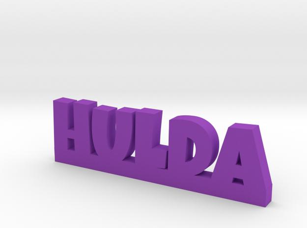 HULDA Lucky in Purple Processed Versatile Plastic
