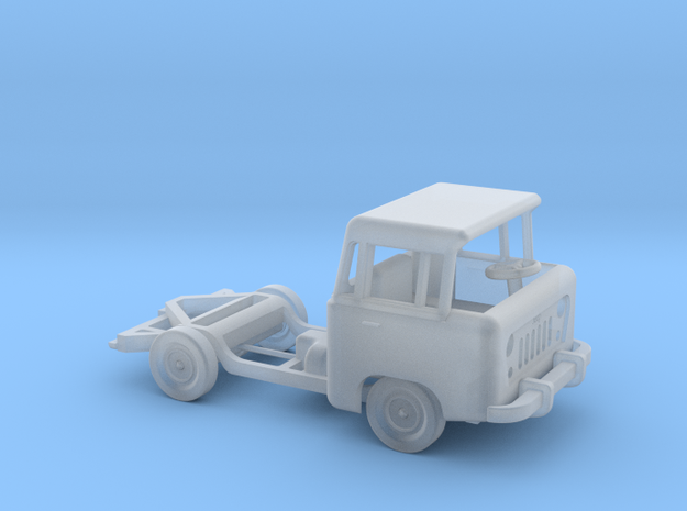 1959 FC150 Chassis and Cab in Frosted Ultra Detail: 1:160 - N