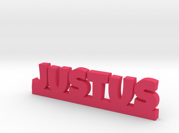 JUSTUS Lucky in Pink Processed Versatile Plastic