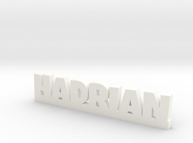 HADRIAN Lucky in White Processed Versatile Plastic
