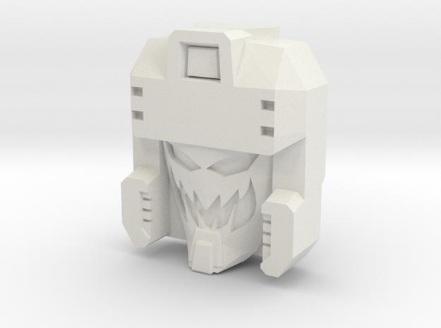Blitzwing, Random Face (Titans Return) in White Natural Versatile Plastic