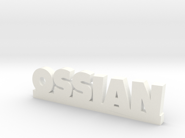OSSIAN Lucky in White Processed Versatile Plastic