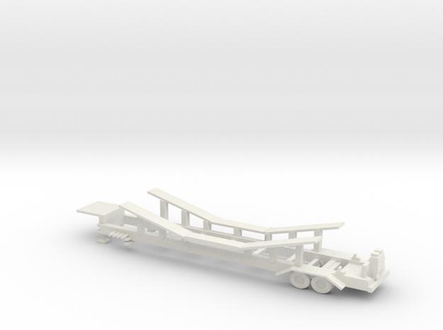 Pharoahs's Fury trailer in White Natural Versatile Plastic