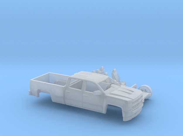 1/160 2016/17 Chevrolet Silverado Long Bed Two Pie in Frosted Ultra Detail