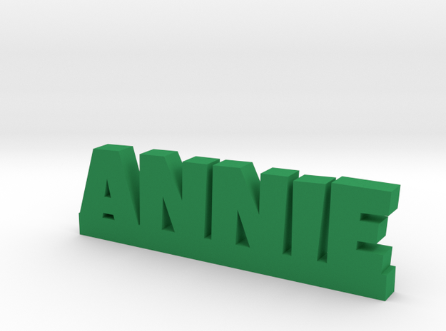 ANNIE Lucky in Green Processed Versatile Plastic