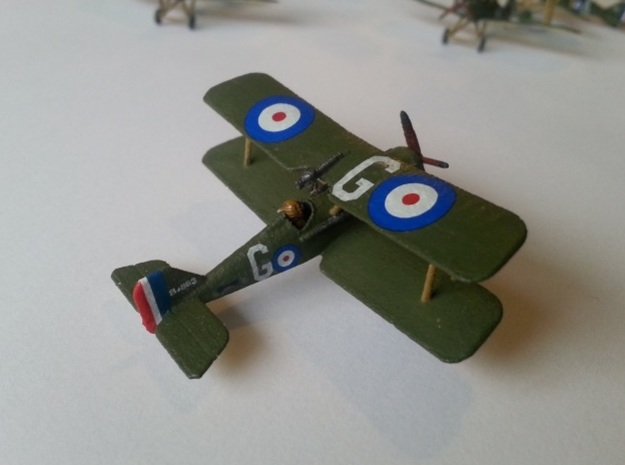 1/144 RAF SE5a x2 in White Natural Versatile Plastic