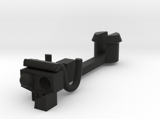 Automatic coupling in Black Natural Versatile Plastic