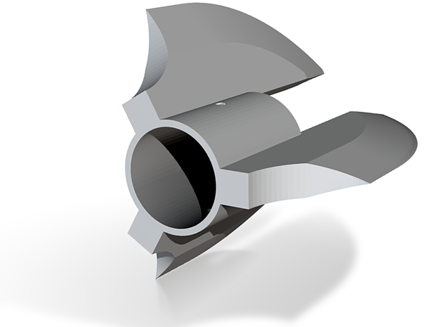 Kyberlight Axe Head 3 in White Strong & Flexible