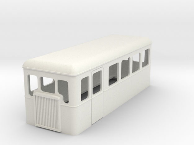 1:35 scale railbus 20 in White Strong & Flexible