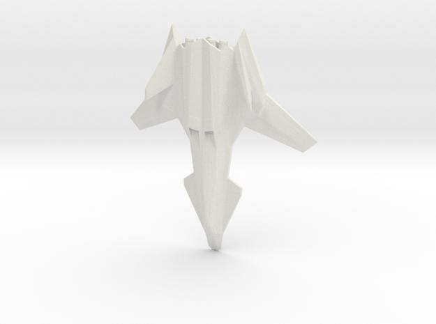 Talon Jet Fighter in White Natural Versatile Plastic
