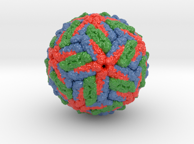 Dengue Virus in Glossy Full Color Sandstone: Small