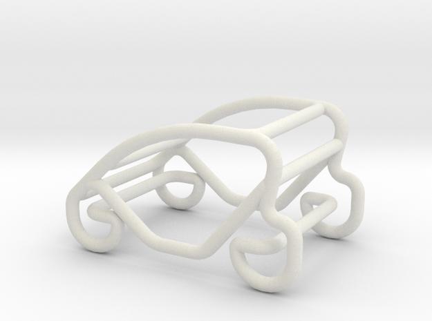 Car Mini Smart scale 1-100 in White Natural Versatile Plastic: 1:100