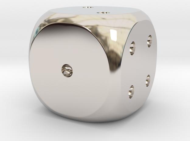 Precious metal dice - platinum, gold or silver