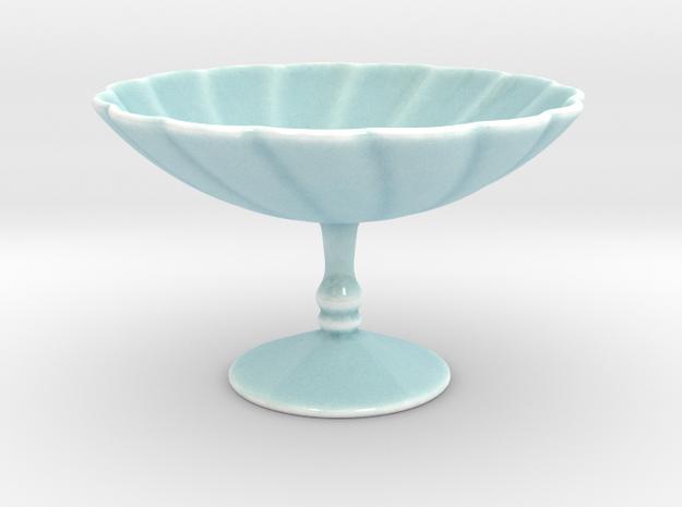 Vase LM in Gloss Celadon Green Porcelain