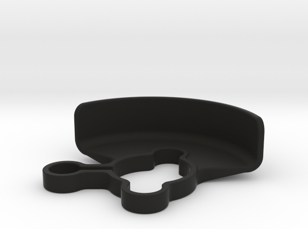 2487 - XRAY XB2 3-GEAR LAYDOWN GEAR SHIELD in Black Natural Versatile Plastic