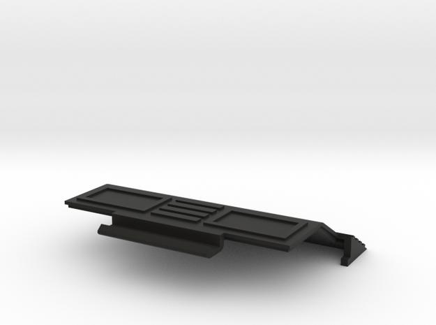 HP Spice Battery Door R4 in Black Natural Versatile Plastic