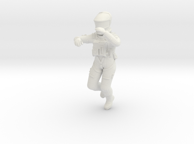 2001 Death Astronaut 1:24 in White Strong & Flexible