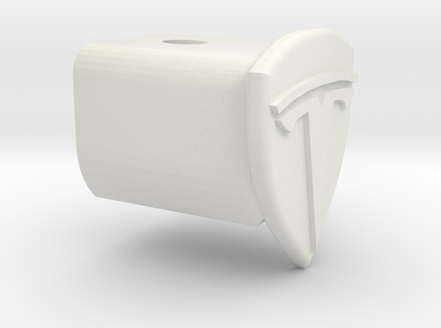 Tesla Home Wall Charger Holster UMC in White Natural Versatile Plastic