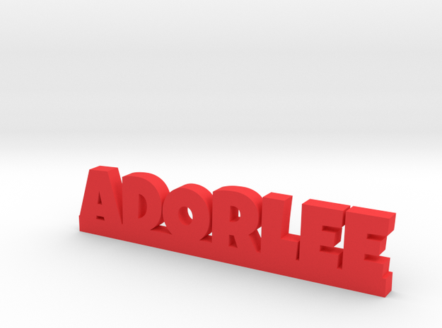 ADORLEE Lucky in Red Strong & Flexible Polished