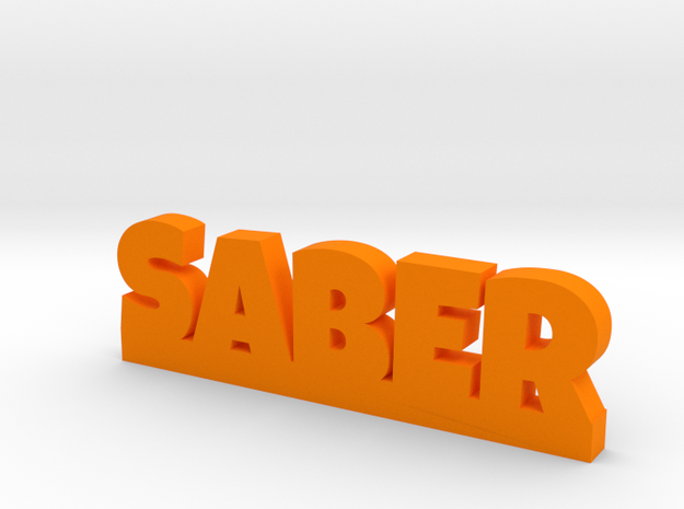 SABER Lucky in Orange Processed Versatile Plastic