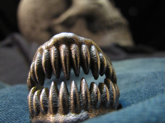 Jaw Ring Size8 3d printed