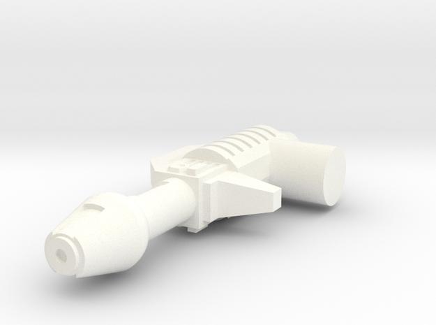 Titans Return Bumblebee Blaster / Gun in White Processed Versatile Plastic