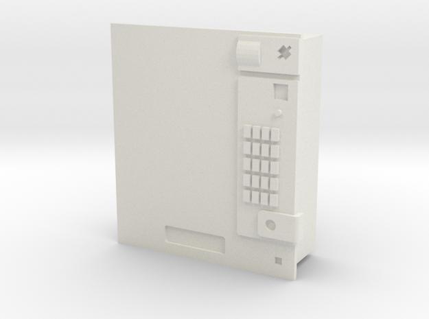 Cigarette vending machine / Zigarettenautomat in White Natural Versatile Plastic: 1:87 - HO