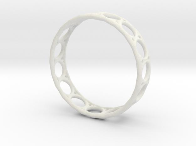 Ring 1.5mm in White Natural Versatile Plastic