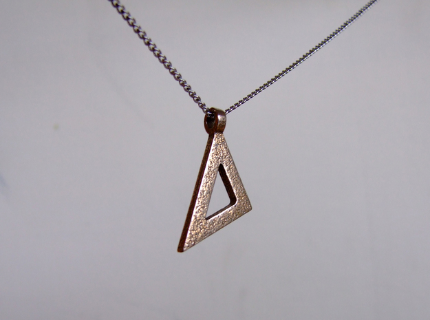Isosceles set square in Stainless Steel