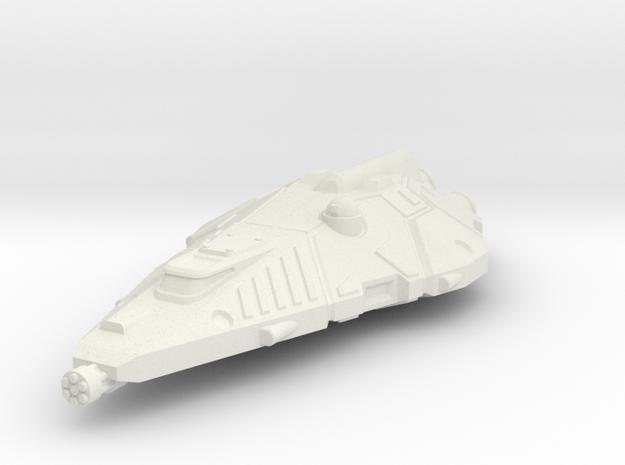 Terran Fighter, Flying in White Natural Versatile Plastic