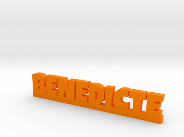 BENEDICTE Lucky in Orange Processed Versatile Plastic