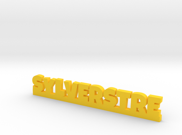 SYLVERSTRE Lucky in Yellow Processed Versatile Plastic