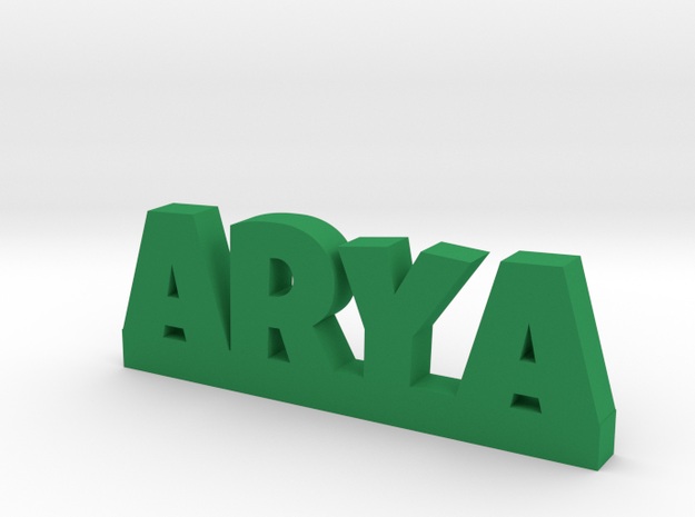 ARYA Lucky in Green Strong & Flexible Polished