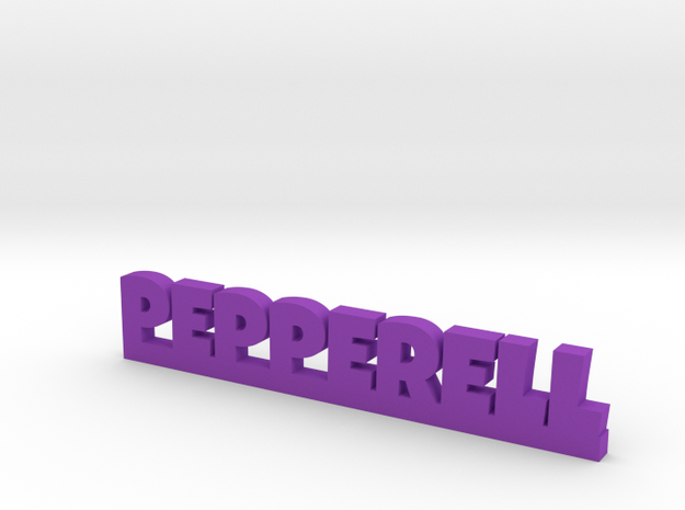 PEPPERELL Lucky in Purple Processed Versatile Plastic