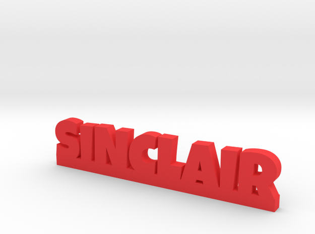 SINCLAIR Lucky in Red Processed Versatile Plastic